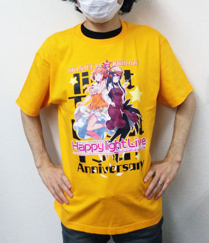 Happy light Live Tシャツ試着