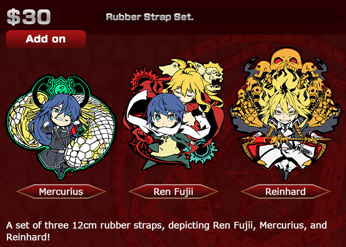 $30(約3,355円)『Rubber Strap Set.』